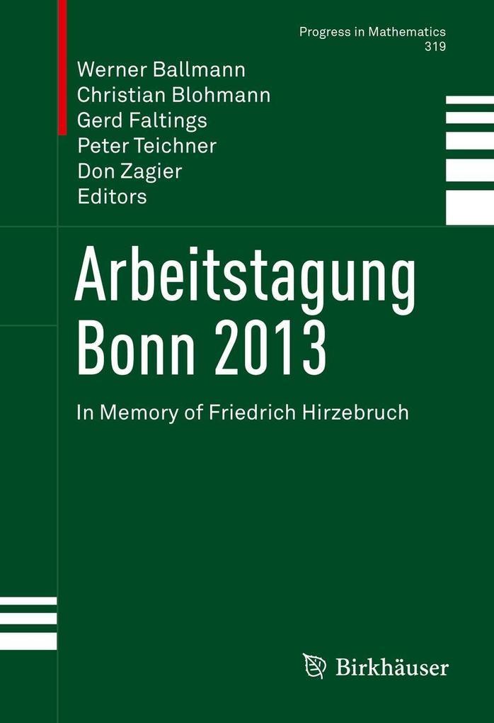 Arbeitstagung Bonn 2013 als eBook Download von