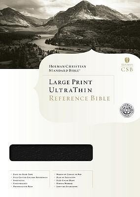 Ultrathin Reference Bible-Hcsb-Large Print als Buch
