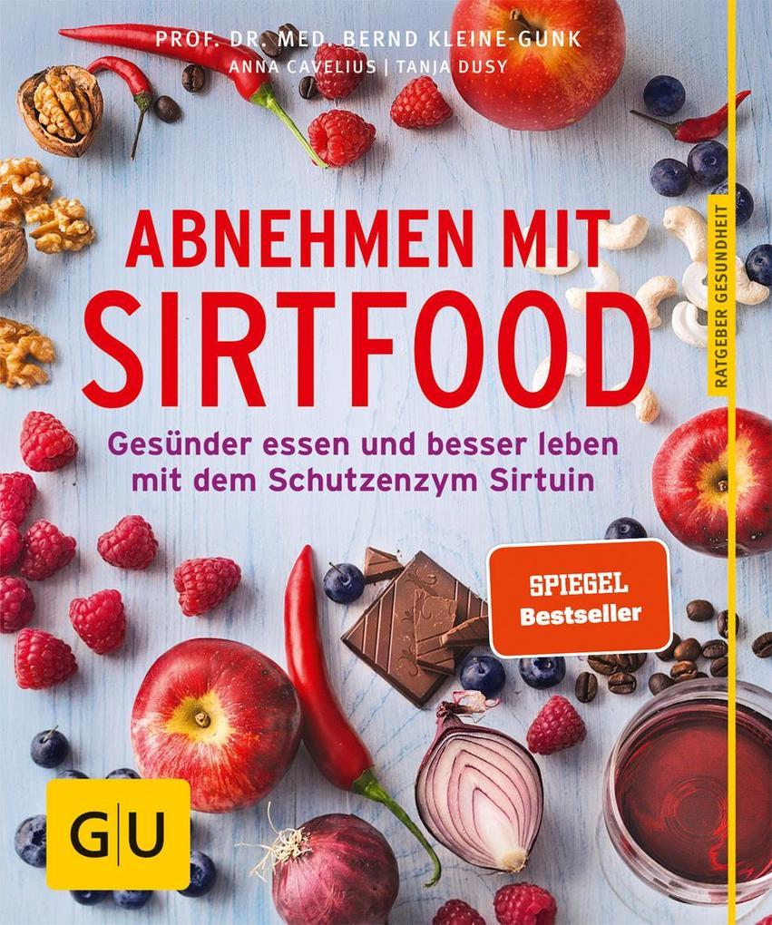 Abnehmen mit Sirtfood als Buch