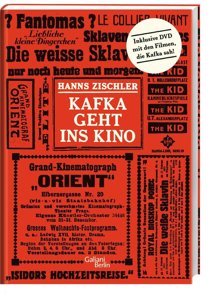Kafka geht ins Kino als Buch von Hanns Zischler