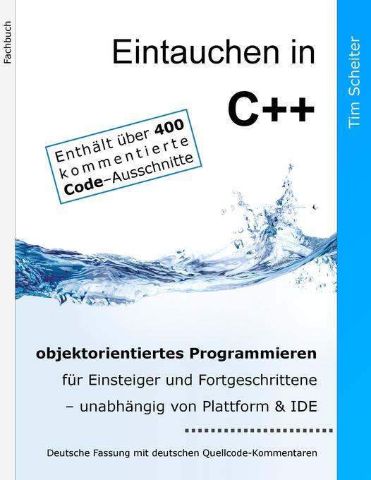 Eintauchen in C++ als Buch