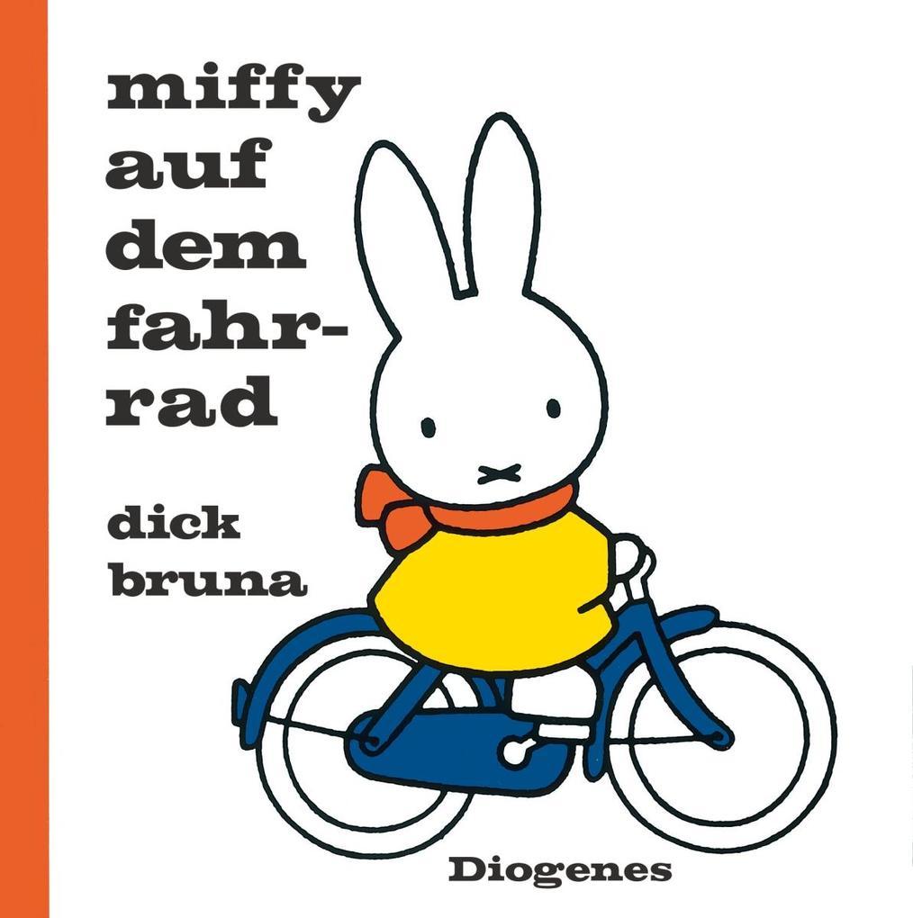 Miffy auf dem Fahrrad als Buch