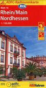 ADFC-Radtourenkarte 16 Rhein/Main Nordhessen 1:150.000