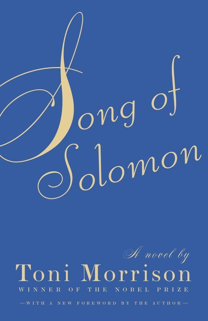Song of Solomon als Taschenbuch