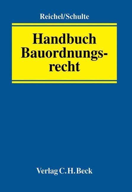 Handbuch des Bauordnungsrecht als Buch