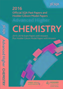 Advanced Higher Chemistry 2016-17 SQA Past Papers with Answers