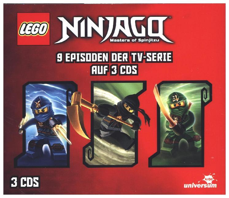 LEGO® Ninjago Hörspielbox 2 als Hörbuch