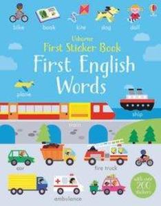 First Sticker Book First English Words als Tasc...