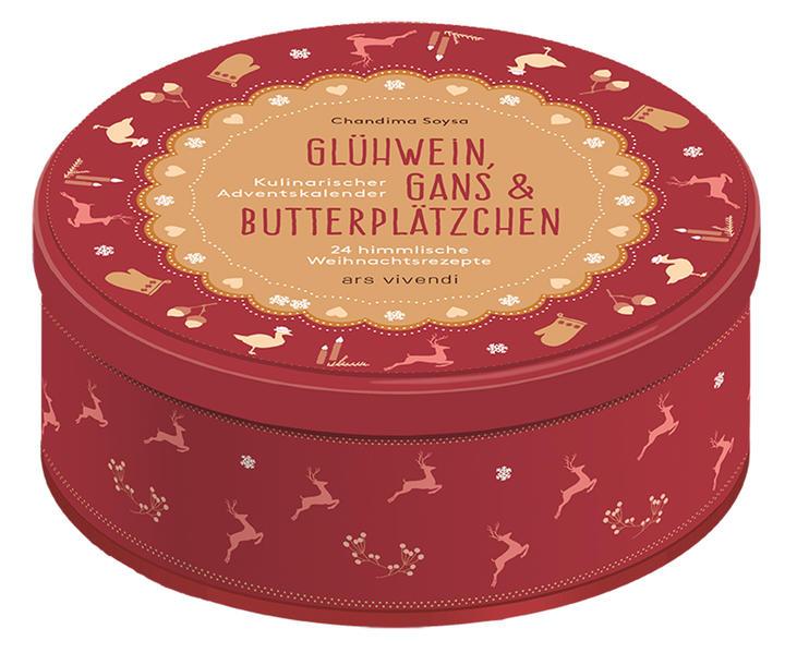 Glühwein, Gans und Butterplätzchen als Kalender