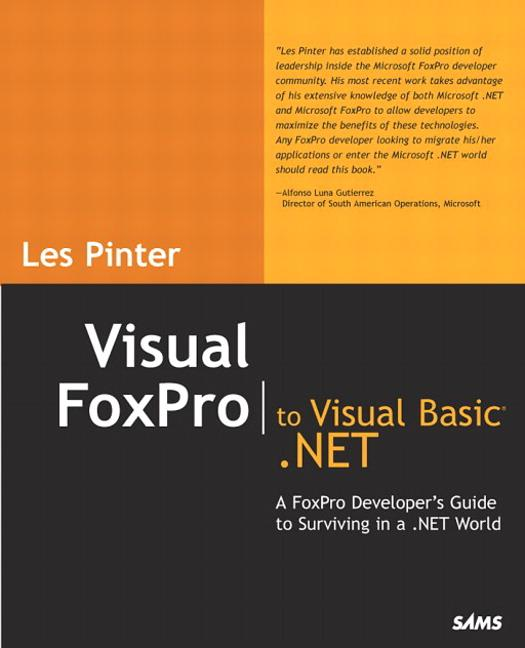 Visual FoxPro to Visual Basic .Net als Buch