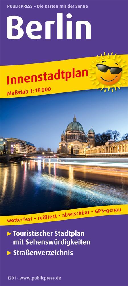 Berlin. Innenstadtplan 1:18 000 als Buch von