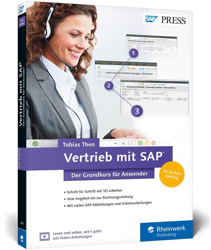 Vertrieb mit SAP als Buch von Tobias Then