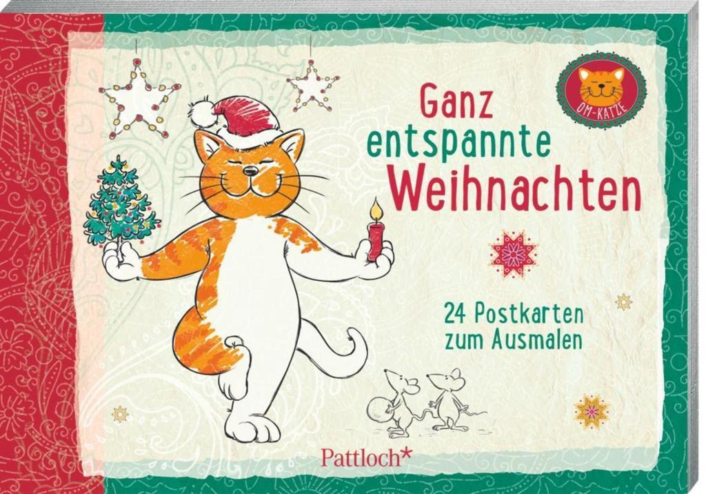 Om-Katze: Ganz entspannte Weihnachten als Buch von