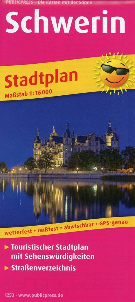 Schwerin. Stadtplan 1:16 000 als Buch von