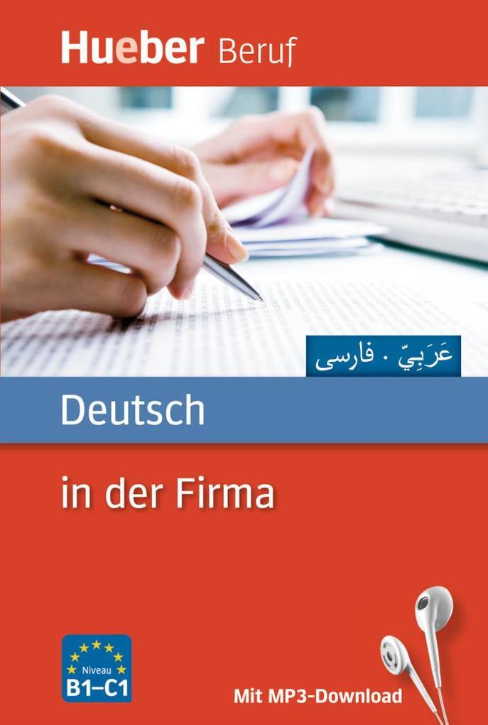 Deutsch in der Firma. Arabisch, Farsi als Buch