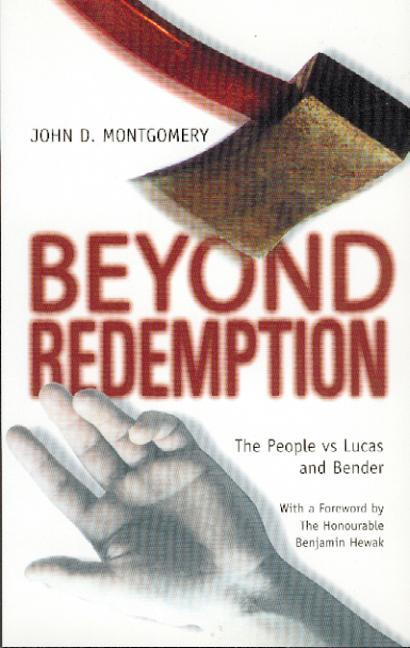 Beyond Redemption: The People Vs Lucas and Bender als Taschenbuch
