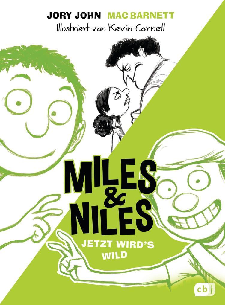 Miles & Niles - Jetzt wird's wild als Buch