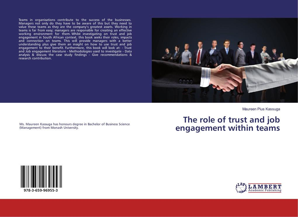 The role of trust and job engagement within tea...