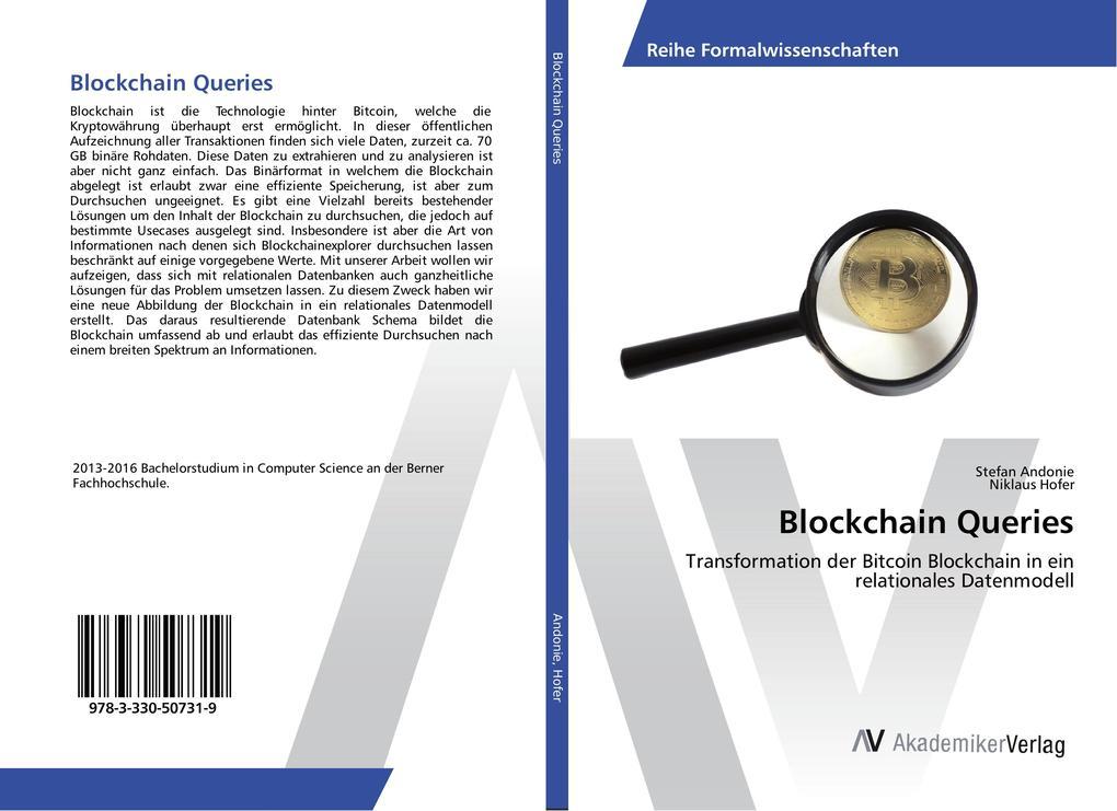 Blockchain Queries als Buch von Stefan Andonie,...