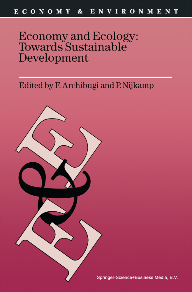 Economy & Ecology: Towards Sustainable Development als Buch