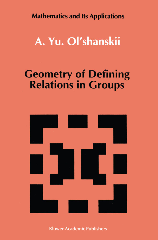 Geometry of Defining Relations in Groups als Buch