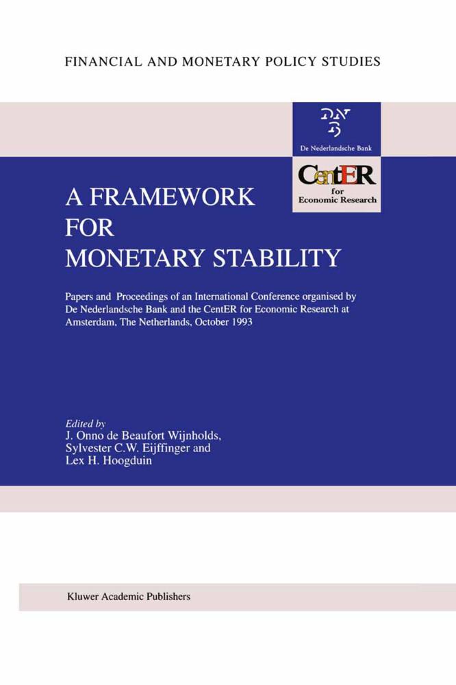 A Framework for Monetary Stability als Buch