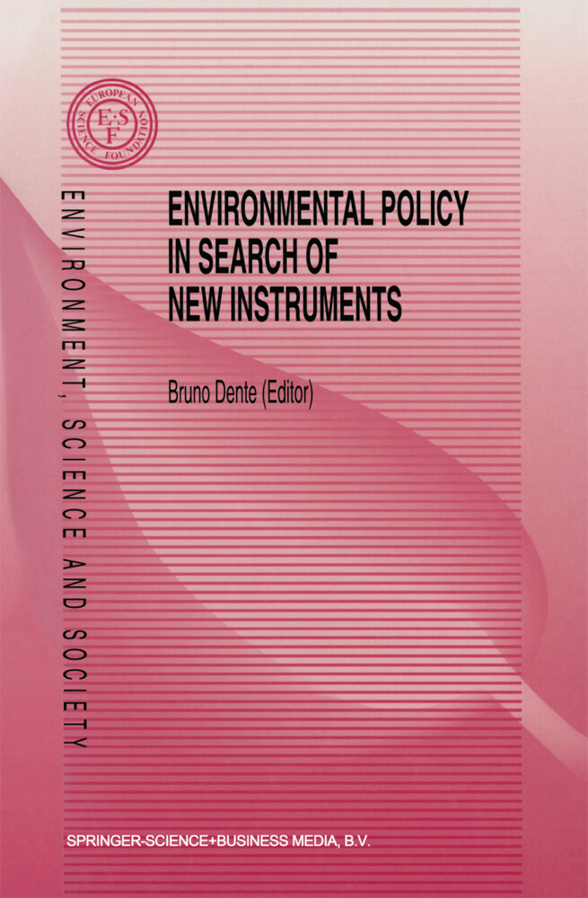 Environmental Policy in Search of New Instruments als Buch