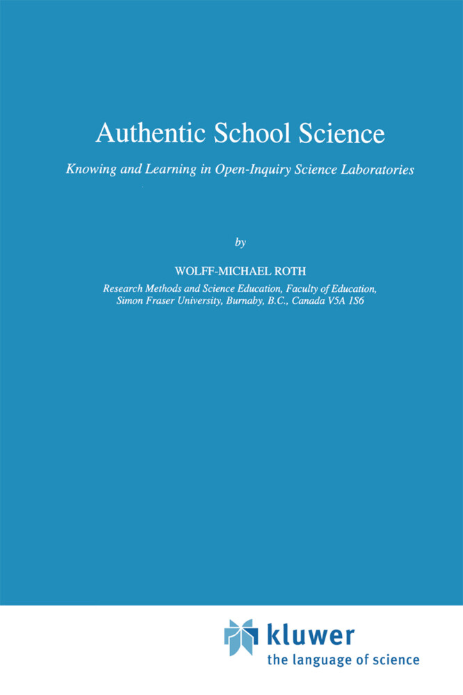 Authentic School Science als Buch