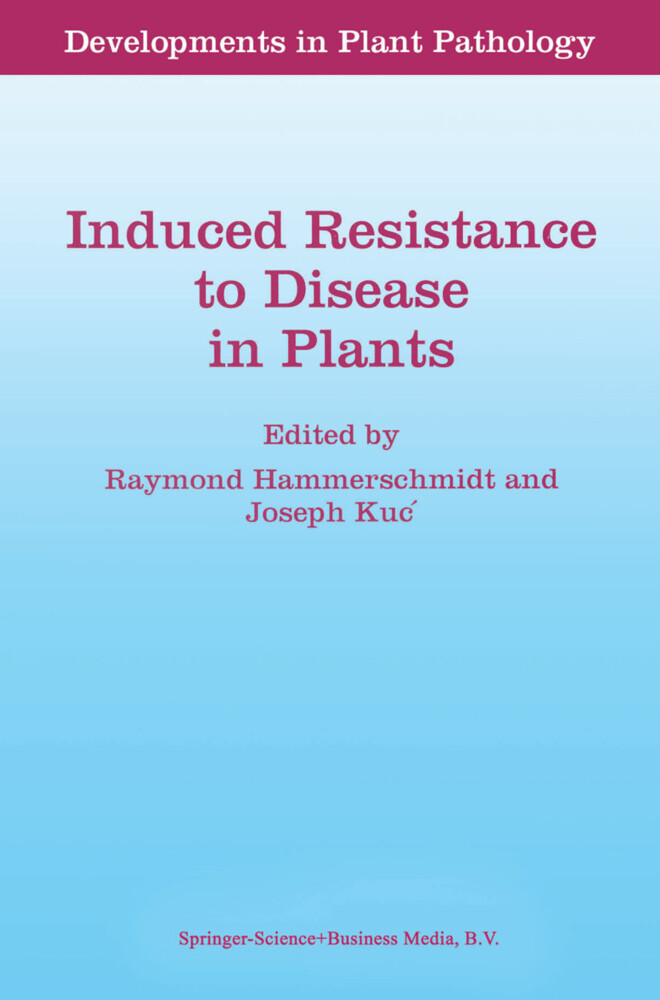 Induced Resistance to Disease in Plants als Buch