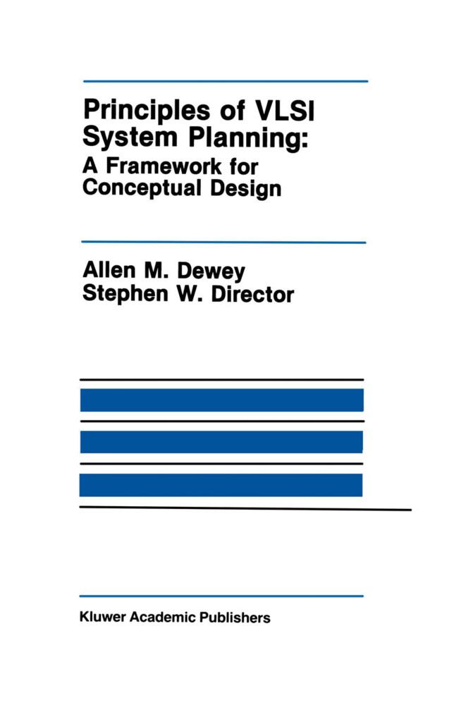 Principles of VLSI System Planning: A Framework for Conceptual Design als Taschenbuch