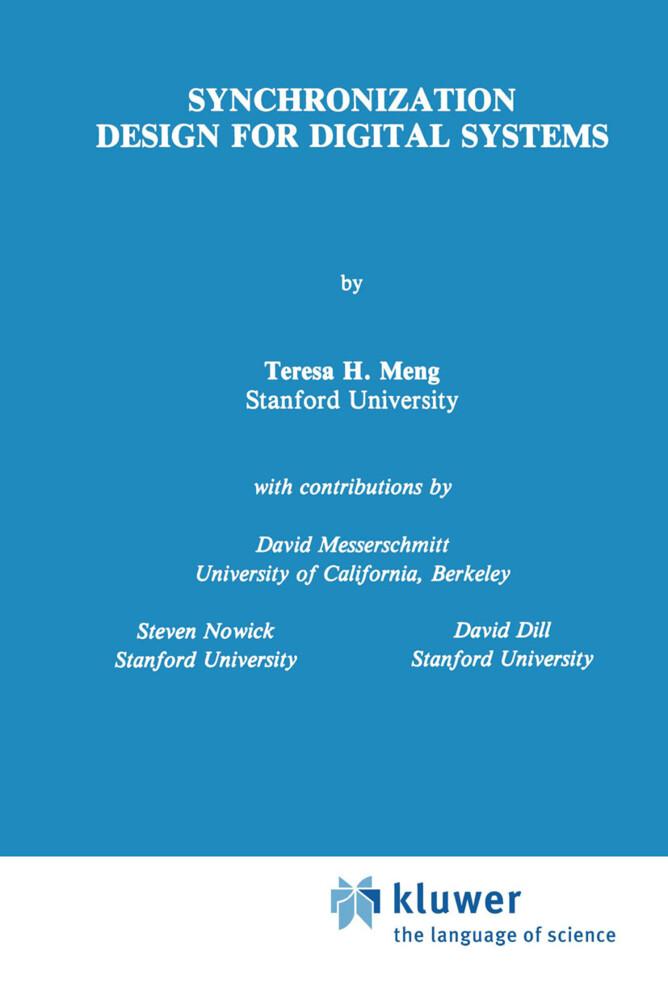 Synchronization Design for Digital Systems als Buch