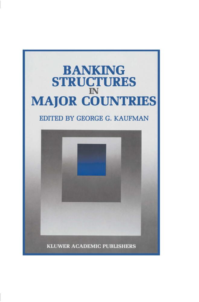 Banking Structures in Major Countries als Taschenbuch