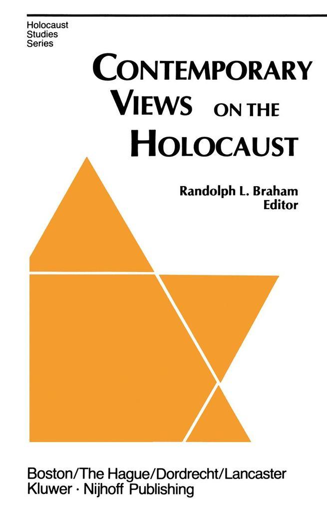 Contemporary Views on the Holocaust als Taschenbuch