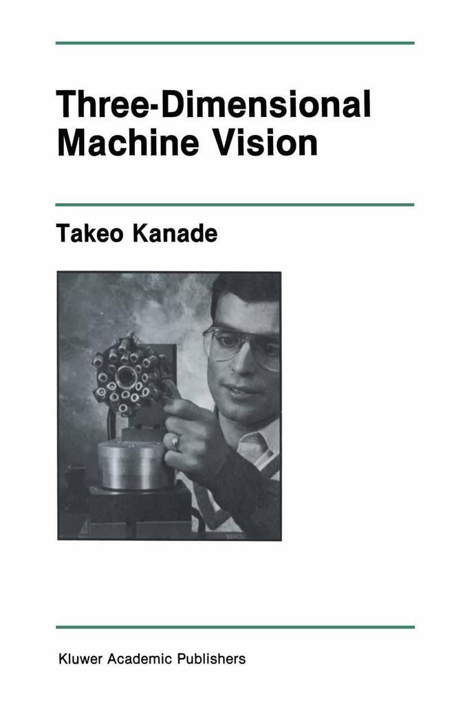 Three-Dimensional Machine Vision als Buch