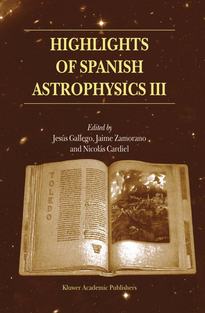 Highlights of Spanish Astrophysics III als Buch