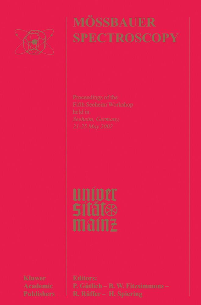 Mössbauer Spectroscopy als Buch
