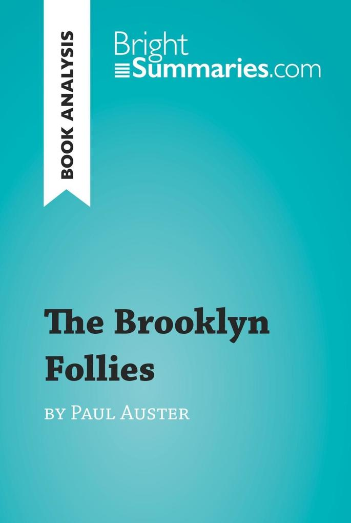 The Brooklyn Follies by Paul Auster (Book Analy...