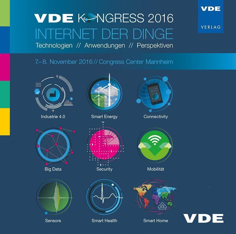 VDE-Kongress 2016 - Internet der Dinge