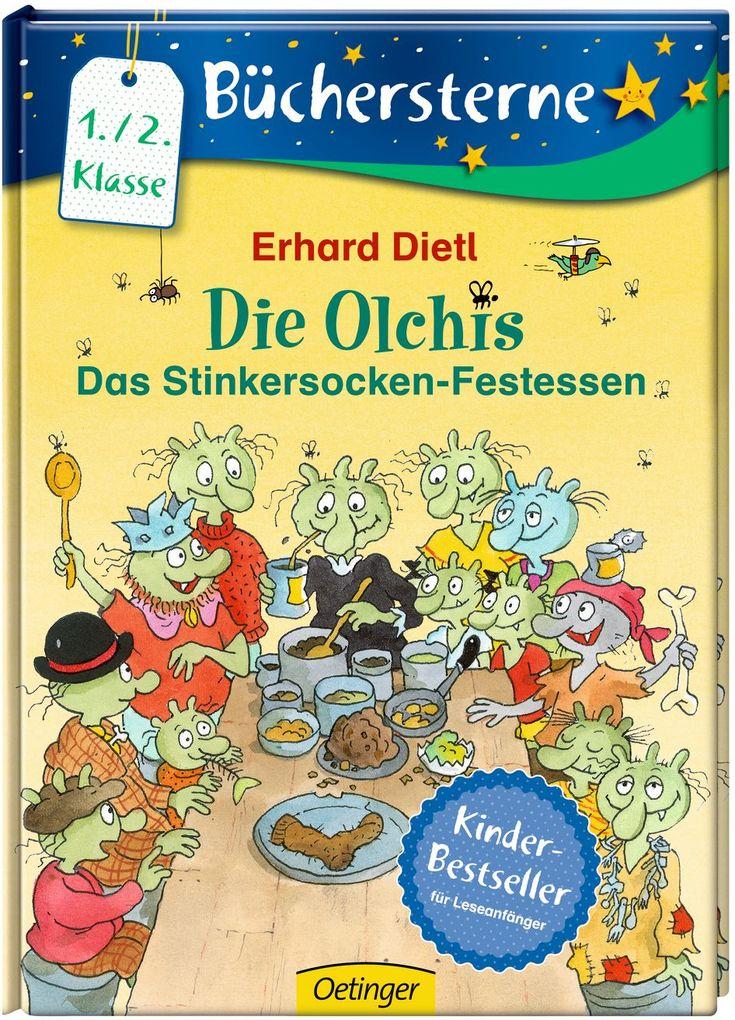 Die Olchis. Das Stinkersocken-Festessen als Buch