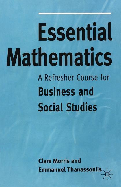 Essential Mathematics als Buch