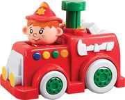 Beeboo Baby Press & Go Feuerwehr mit Licht & Sound