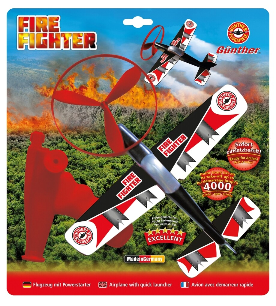 Günther Flugmodelle - Powerflieger Fire Fighter