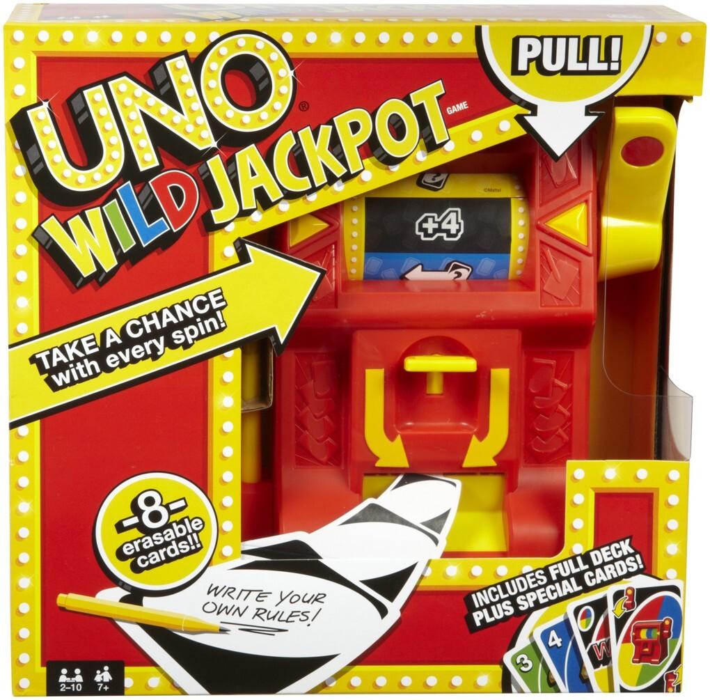 Mattel Games - UNO Wild Jackpot