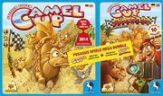 Pegasus 54548G - Camel Up: Spiel des Jahres 204 + Camel Up: Supercup (5451G+54546G) Bundle
