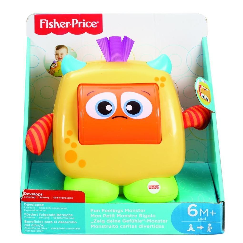 Mattel Fisher Price New Born Fun Feelings Monster