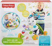 Fisher Price - Lern mit mir ' Zebra Lauflernwagen