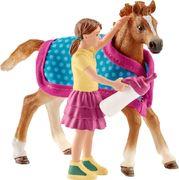 Schleich - Horse Club - Fohlen mit Decke