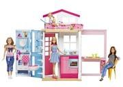 Mattel - Barbie - Ferienhaus und Puppe