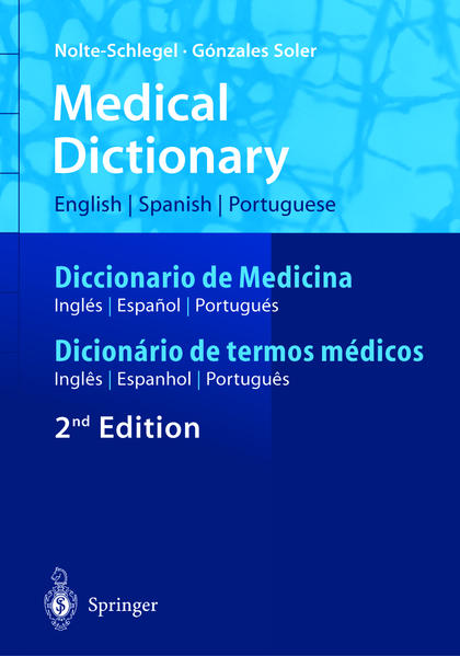 Medical Dictionary/Diccionario de Medicina/Dicionário de termos médicos als Buch