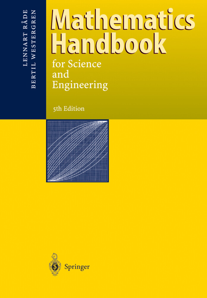 Mathematics Handbook for Science and Engineering als Buch